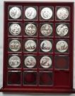 Picture of Serie zilveren panda's 2001 t/m 2015 (15 stuks)