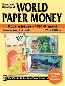Picture of Krause's World Paper Money - Modern Issues 1961-Nu (25e editie)