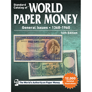 Picture of Krause's World Paper Money - General Issues 1368-1960 (16e editie)