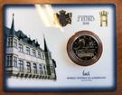 Picture of 2 Euromunt 2018 Luxemburg met mmt Servaasbrug - constitutie