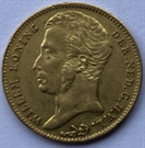 Picture of Gouden Tientje 1829 Brussel - ZF+