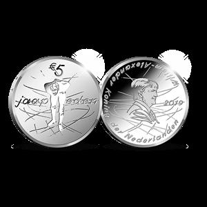 Picture of 5 euro zilver proof 2019 Jaap Eden