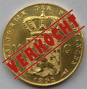 Picture of Gouden Tientje 1892