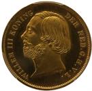 Picture of Dubbele negotiepenning of 20 Gulden goud 1853 (RRR) - topkwaliteit