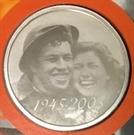 Picture of 50 x Zilveren penning 60 Jaar Bevrijding (758 gram fijn zilver)