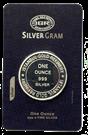 Picture of 1 ounce zilver (per stuk verpakt in creditcard)