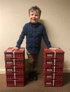 Picture of 5 x Monsterbox zilveren Wiener Philharmonikers (500 stuks)