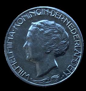 Picture of Proefontwerp gulden Wilhelmina 1928 (Begeer)