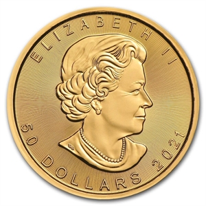 Picture of Canada: Maple Leaf goud 2021